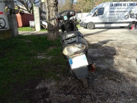 TNT Motor 50 Roma 2018 - Nos scooter accidenté - RSV !