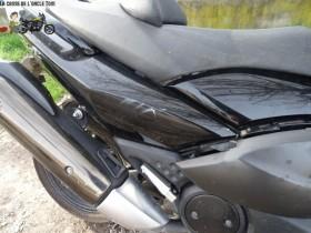 Yamaha 500 T-Max 2009 - Maxi scoot accidenté ( épave ) - RSV