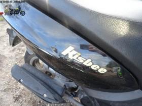 Peugeot Kisbee 50 2011 - Scooter Peugeot accidenté - RSV