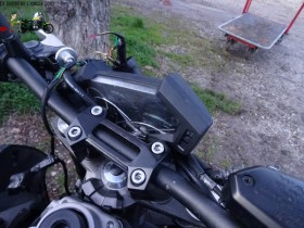 Kawasaki Z800 épave - Moto Kawasaki accidentée !