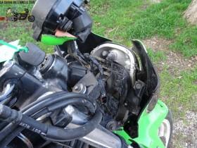 Kawasaki ER 650 2006 - Nos motos Kawasaki accidentées !