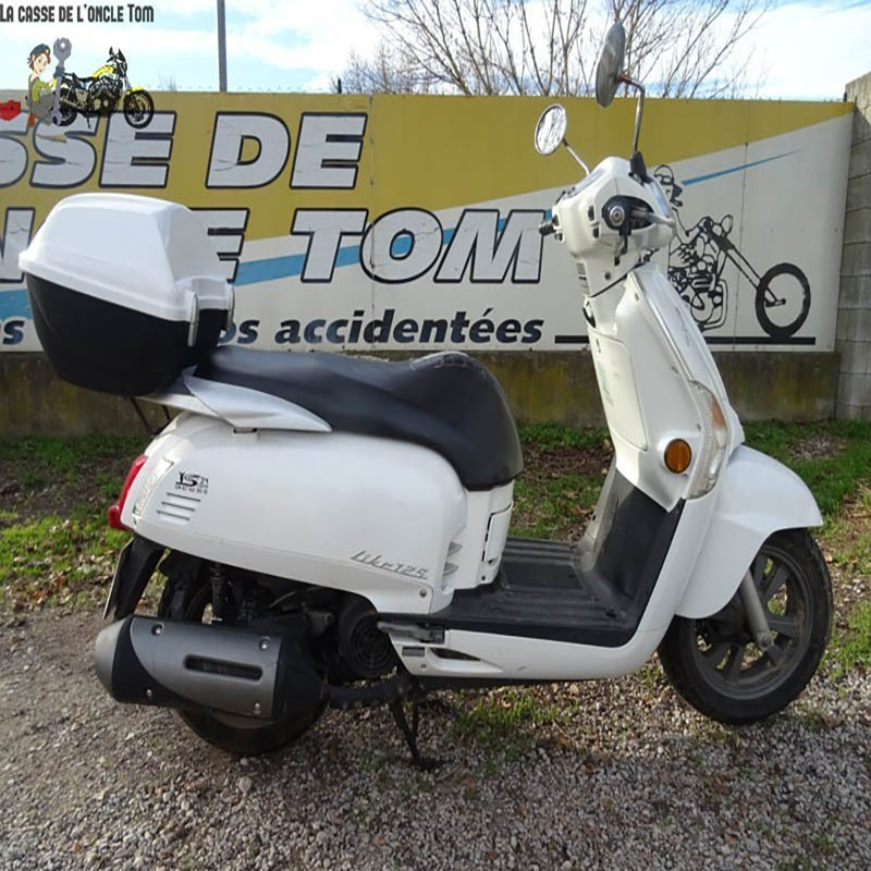 Cassetom -  KYMCO LIKE 125 RIV - carte grise dispo - Nos scooters accidentés