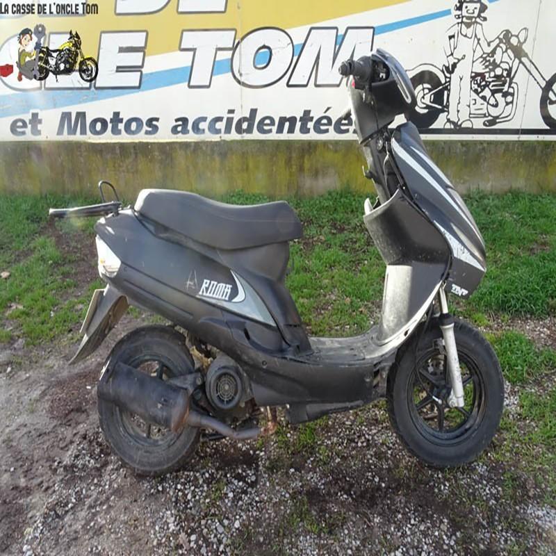 Cassetom -  TNT Motor 50 Roma 2018 - Nos scooters accidentés