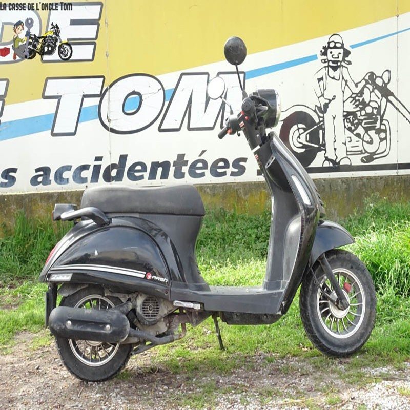 Cassetom -  MASH 50 CITY BIPBOP DE 2017 - Nos scooters accidentés