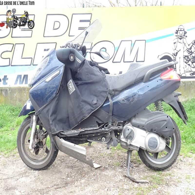 Cassetom -  PIAGGIO VESPA X7 125 DE 2008 - Nos scooters accidentés