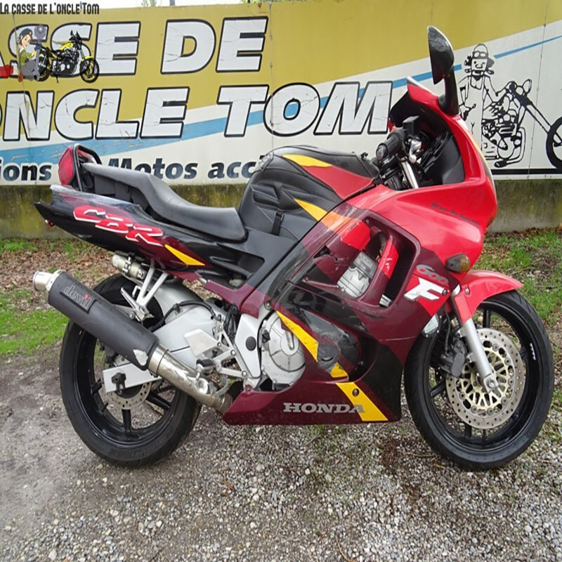 Cassetom -  HONDA CBR 600 F de 1996 - Nos motos accidentées