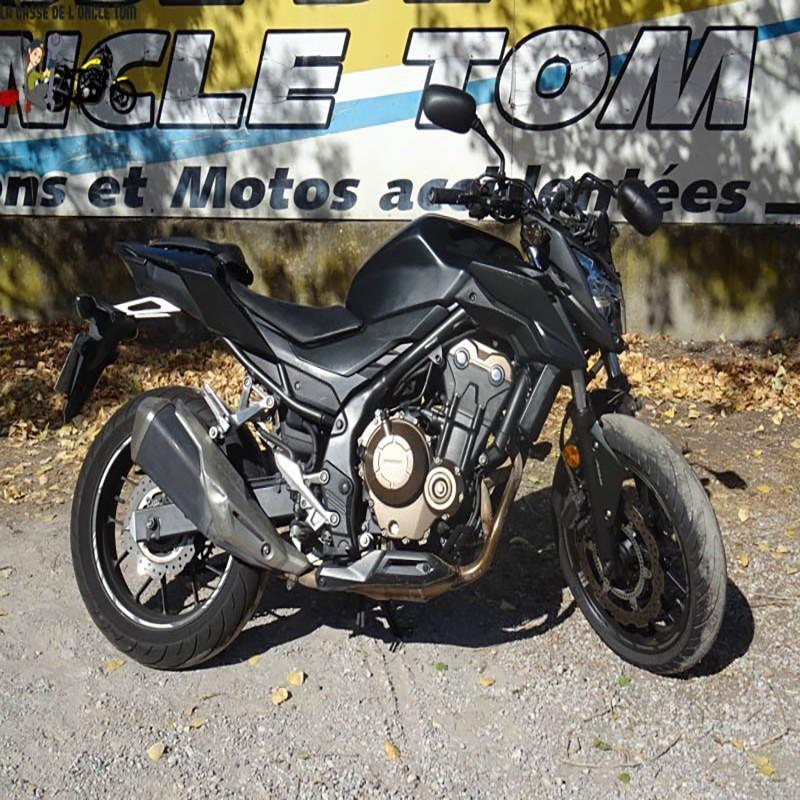 Cassetom -  Honda 500 CBF 2017 - Nos motos accidentées