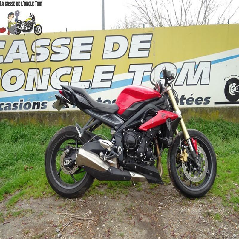 Cassetom -  TRIUMPH STREET 675 DE 2014 - Nos motos accidentées