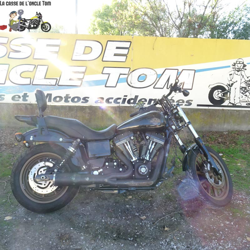 Cassetom -  Harley Davidson 1801 DYNA LOW RIDER de  2017 - Nos motos accidentées