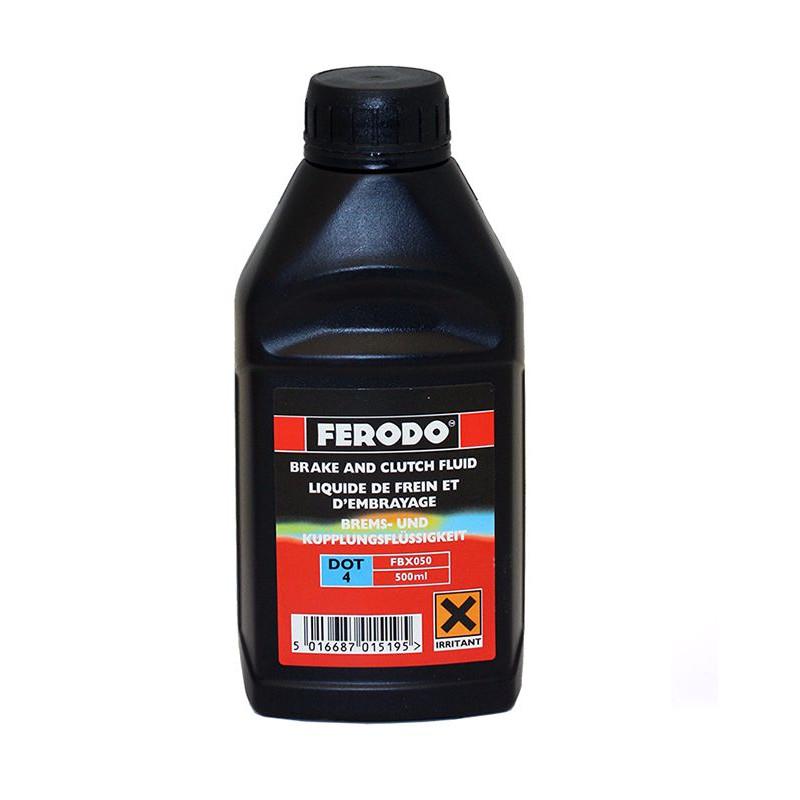 Liquide de Frein DOT4 500mL - Sae J:1703 Fmvss 116