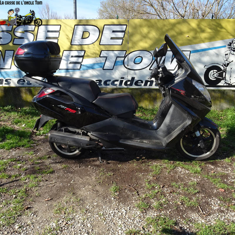 Cassetom -  Peugeot 125 SATELI125 de  2008 - Nos scooters accidentés