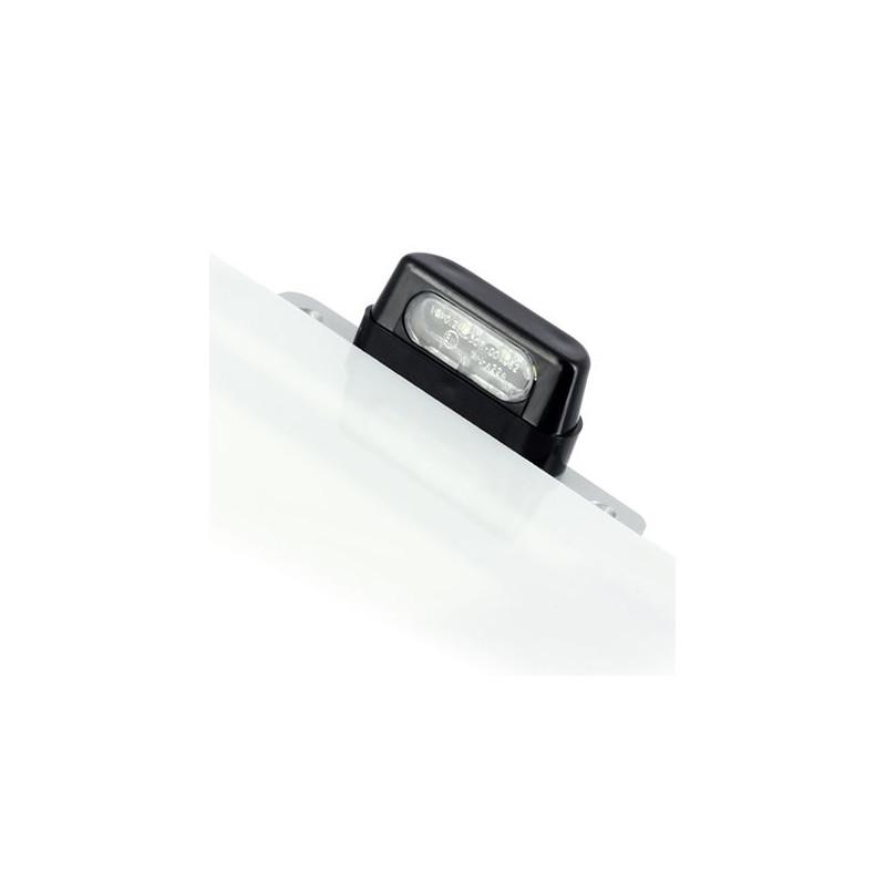 Eclairage de Plaque 4 LED - Noir