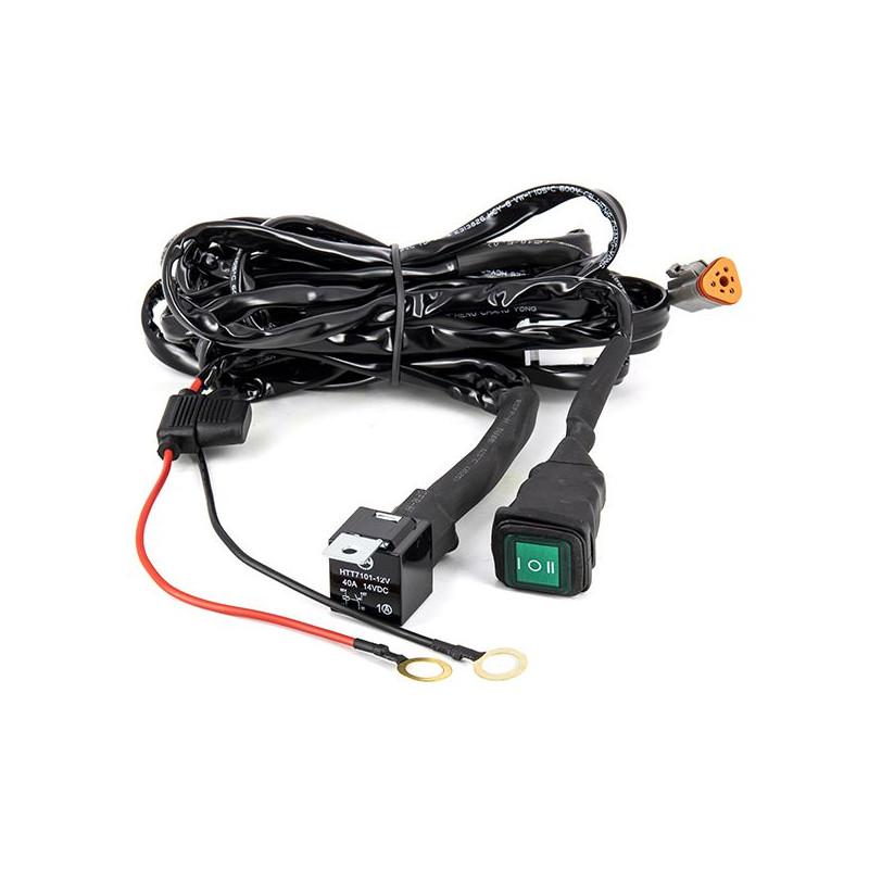 Faisceau Additionnel 3M pour barres LED 0 a 320W / Switch pour 2 Eclairages : 40