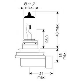 Ampoule H11 - 12V 55W...