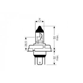 Ampoule CE - 12V 45/40W P45t