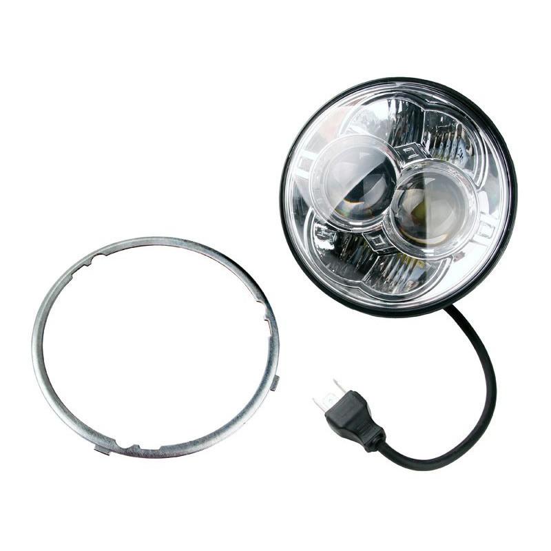 Projecteur Rond 8 LED 30/48W 2800/4450 Lum Dim: O 114 x 91,6mm