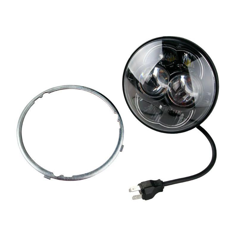 Projecteur Rond 8 LED 30/48W 2800/4450 Lum Dim: O 114 x 99,6mm