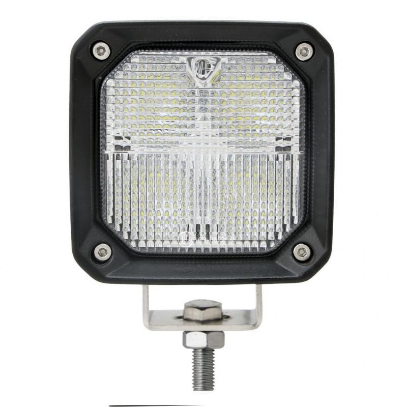 Projecteur Rond 8 LED 28/36W 3000/3800 Lum Dim: O 175 x 108mm
