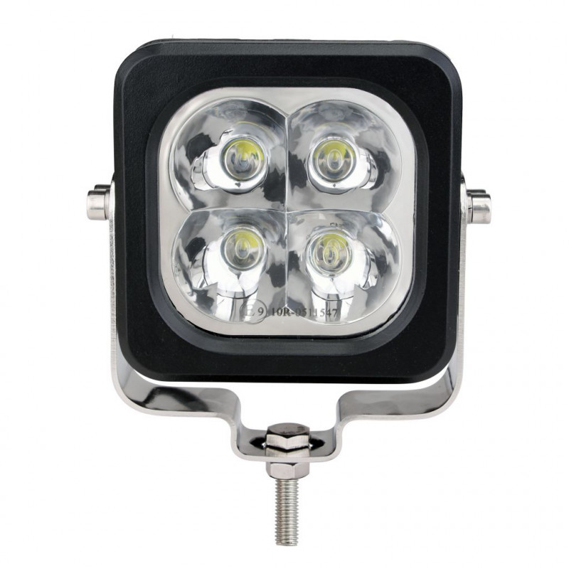 Projecteur Rectangulaire 10LED 3000/3800 Lumens Dim: 200x142x106 mm