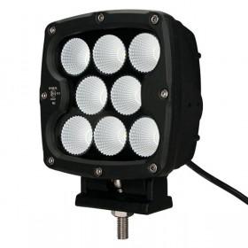 Projecteur Carre 8 LED 80W...