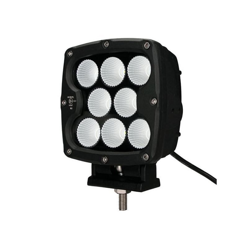 Projecteur Carre 8 LED 80W 5600 Lum, CE ROHS Dim: 130x130x86 mm