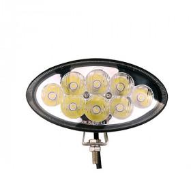 Projecteur Ovale 8 LED 24W...
