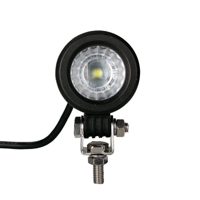 Projecteur Rond 1 LED 10W 800 Lum, Epistar LED, CE ROHS Dim: O 57 x 57mm