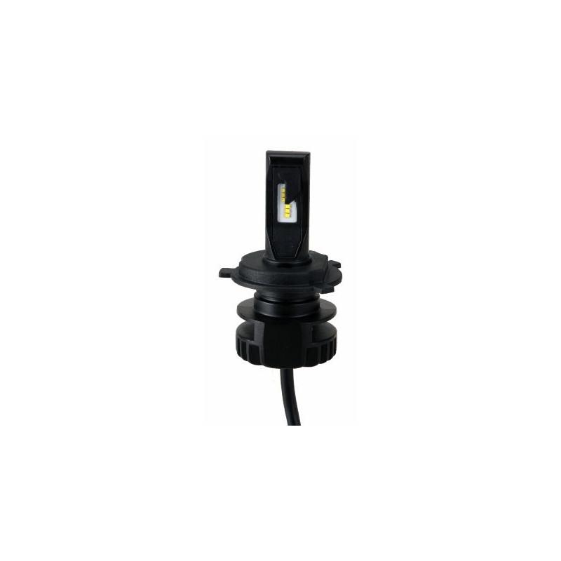 Ampoule H4 LED + Ballast - 16W/2200 Lumens Code/Phare