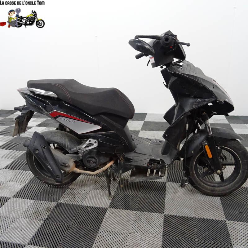 Cassetom -  Orcal 50 LJ50QT de  2020 - Nos scooters accidentés